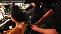 Great video of Adrien styling for David Tlale at NYFW Fall 2015!